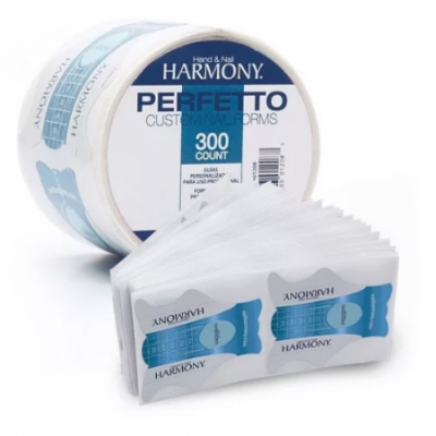 HARMONY, Disposable Paper Forms Perfetto Nail Forms, 300 pcs.
