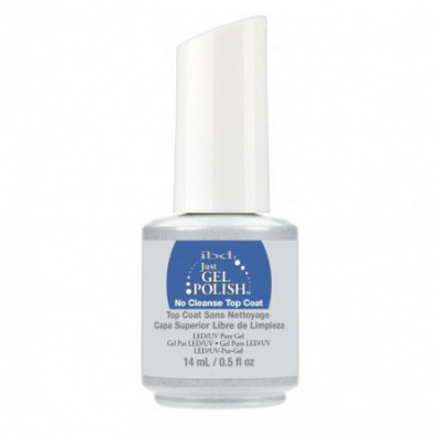 ibd, No Cleanse Top Coat (3 phase) for gel polish without tack, 14 ml.