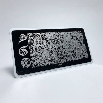 Aeropuffing, Stamping Plate, Q-19 (Lace)