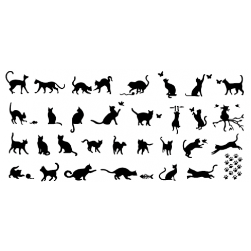 Aeropuffing, Stamping Plate, A-08 CATS